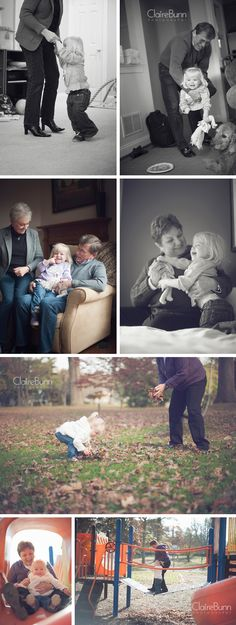 Grandparents and their granddaughter  Claire Bunn Photography  Lifestyle Photography. Can't wait to take professional pictures with our kids and their grandparents on both sides!