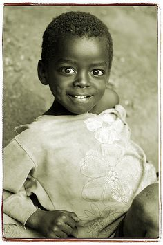 Beautiful Ethiopian child