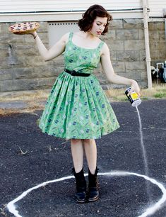 Solanah's Supernatural-inspired frock is just DARLING!