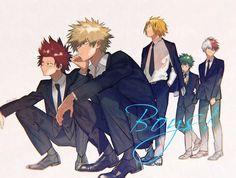 Boku no Hero Academia - Boys