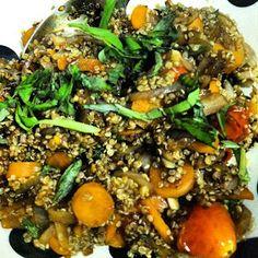 Balsamic Quinoa #Recipe