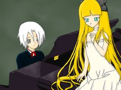 Allen and Lala from D. Gray-Man
