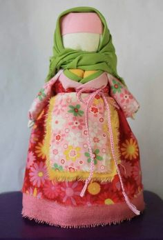 Motanka, handmade doll