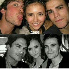 Huh. They didn't change at all. Except Nina looks WAY older than she did. No offense, hon.