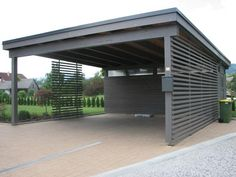 Tischlerei Svetelj - car roofs - individual garage - BATTLE - # G…, Tischlerei Svetelj - car roofs - individual garage - BATTLE - . When ancient throughout thought, your pergola continues to be suffering from a contemporary r. Carport Garage, Pergola Carport, Wood Pergola, Pergola Plans, Garage Doors, Diy Pergola, Car Garage, Pergola Kits, Pergola Ideas