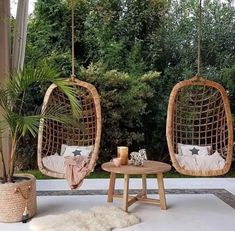 Powder Room Design, Hanging Chair, Rattan, Sweet Home, Room Decor, Interior Design, Wood, House, Outdoor