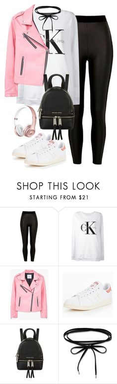 """Untitled #2403"" by thisishowwedress on Polyvore featuring River Island, Calvin Klein Jeans, MANGO, adidas Originals, Michael Kors and Thomas Sabo"