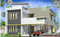 Small 2 Storey Homes Plans Contemporary Residence Design Online Small Cottage House Plans, Simple House Plans, Craftsman House Plans, Two Story House Design, 2 Storey House Design, House Plans With Pictures, House Design Pictures, Best Small House Designs, Indian House Plans