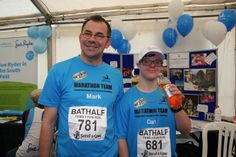 Two of our members recently participated in the Bath Half Family Fun Run to raise money for SWALLOW.  Text SWAL10 £3 to 70070 to give your support to their efforts and our work helping people with learning disabilities.