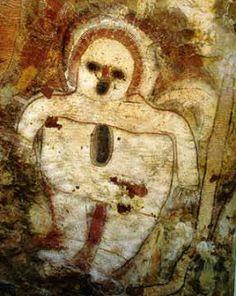 Halo wandjina petroglifos  Kimberley Australia 5000 años