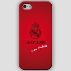 Fundas para iPhone 4-4s-5-5s, con diseños del Real Madrid CF. Materiales policarbonato semiflexible y  color rojo Puedes ver más detalles y Comprar con envió gratis en: http://www.upaje.com/shop/fundas-moviles/real-madrid-cf-iphone-5-5s/ #fundas #carcasas #iphone4 #iphone4s #iphone5 #iphone5s #realmadrid #rojo