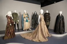 Game of Thrones by Costume Designer Michele Clapton, nominated for the 2012-2013 Emmy Award for Outstanding Costume Design.