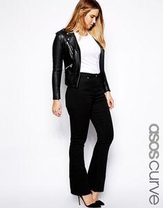 Styling black jeans