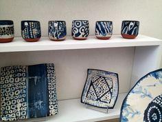 Chantal Cesure ceramics, in Paris 2013
