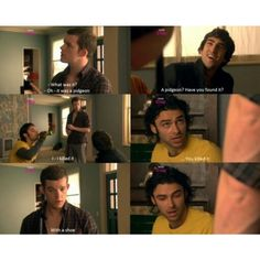 One of my favorite Mitchell and George moments      :) :) :)