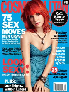 Cosmopolitan May 2011 #HayleyWilliams #Paramore