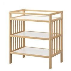 Gulliver Change Table in Birch, from Ikea