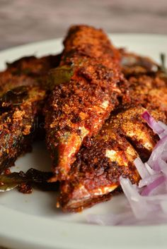kurryleaves: Karnataka Style Mackerel Fry | Bangada Fry | Rava Fish Fry