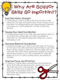 Why are Scissor Skills So Important? FREE printable for parents, teachers and. - Why are Scissor Skills So Important? FREE printable for parents, teachers and… Why are Sciss - Preschool Classroom, Preschool Learning, Early Learning, Preschool Activities, Motor Activities, Time Activities, Physical Activities, Physical Education, Dementia Activities