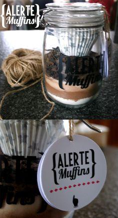 DIY - A offrir pour Noël - Kit à muffins