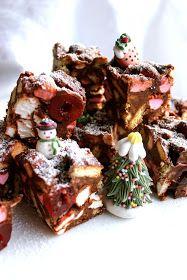 Warm&Snug&Fat: christmas rocky road squares
