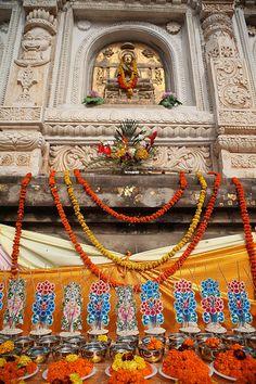 Bodhgaya - Mahobodhi Temple - Northern India