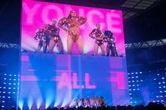 Beyoncè- The Formation World at Wembley Stadium. London, England July 2nd, 2016