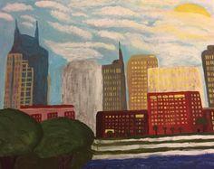 Acrylic Nashville Sunrise