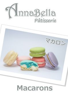 Annabella Patisserie Macarons Product Catalogue, Macarons, Macaroons