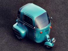 tri-wheeled car