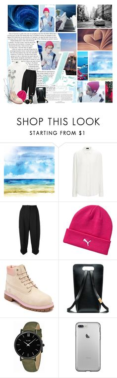 """""""ROUND THREE : AIRPORT FASHION"""" by laurablima-1 ❤ liked on Polyvore featuring beauty, Avenue, Dolce&Gabbana, Puma, Timberland, CLUSE and Polaroid"""