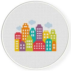 Skyline cross stich