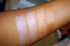 BH Cosmetics Carli Bybel 14 Eyeshadow & Highlighter Palette Swatches