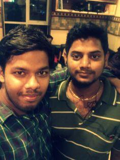 Me and friend muthu asif biriyani chennai. 10th jan 2013