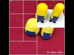 ミニオンの砂糖細工