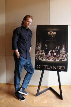Sam Heughan at Outlander Japan promo