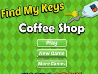 My friend likes to prank me, he hid my keys here at the coffee shop. Please help me find them!