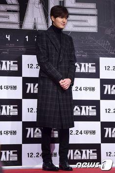 "[Photo] 141216 Lee Min Ho @ ""The Technicians"" VIP Premiere   ♥♥Love Minsun♥♥"