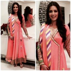 Sonali Bendre in Surily Goel.