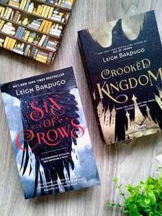 Six of Crows And Crooked Kingdom by Leigh Bardugo Book Nerd, Book Club Books, Book Series, Books To Buy, Books To Read, Crow Books, Crooked Kingdom, Fantasy Books, Fantasy Book Reviews