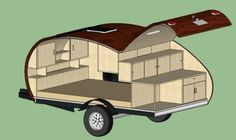 Teardrop Trailer Floor Plans