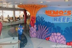 Disney Fantasy Nemo's Reef