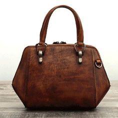 Genuine Leather Handmade Handbag Crossbody Bag   Evergiftz   Camel, Camel Black, Dull Red, Purple, Green Material: Cowhide Measures: 18cm x 31cm x 11cm Slots: 2 large slots, 2 inner pocket slots, 2 inner zipped slots, 1 back pocket slot, 1 front pocket slot