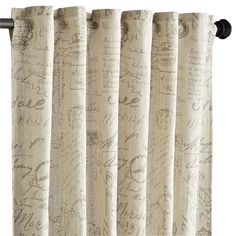 Amelie Curtain - Natural 84""