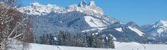 Stimmungsbild auf der Seite: Winterwandern im Tannheimer Tal in Tirol