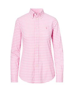 Slim Fit Gingham Shirt - Polo Ralph Lauren New Arrivals - RalphLauren.com