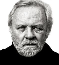 Sir Anthony Hopkins - © All images are copyrighted to Andy Gotts Black And White Portraits, Black White Photos, Black And White Photography, Celebrity Portraits, Celebrity Photos, Celebrity Faces, Celebrity Moms, Celebrity Style, Photo Portrait