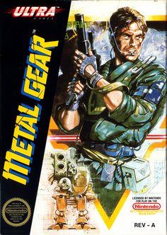 Metal Gear NES 1987