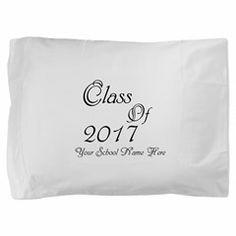 Class of 2017 Pillow Sham