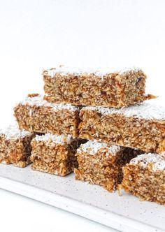 Krispie Treats, Rice Krispies, Granola Bars, Good Mood, Healthy Snacks, Lunch Box, Sweet, Desserts, Recipes